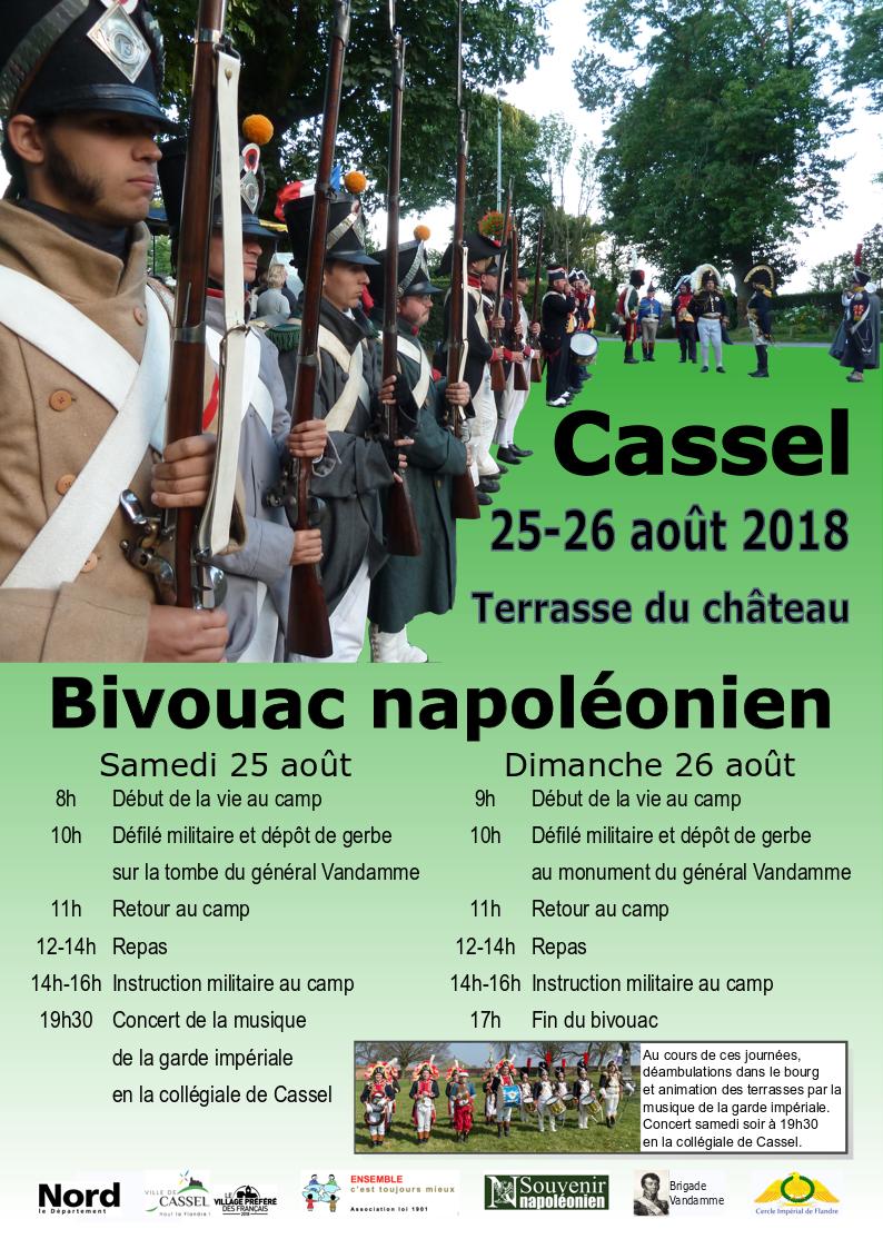 Bivouac napoléonien de Cassel 25-26 août 2018