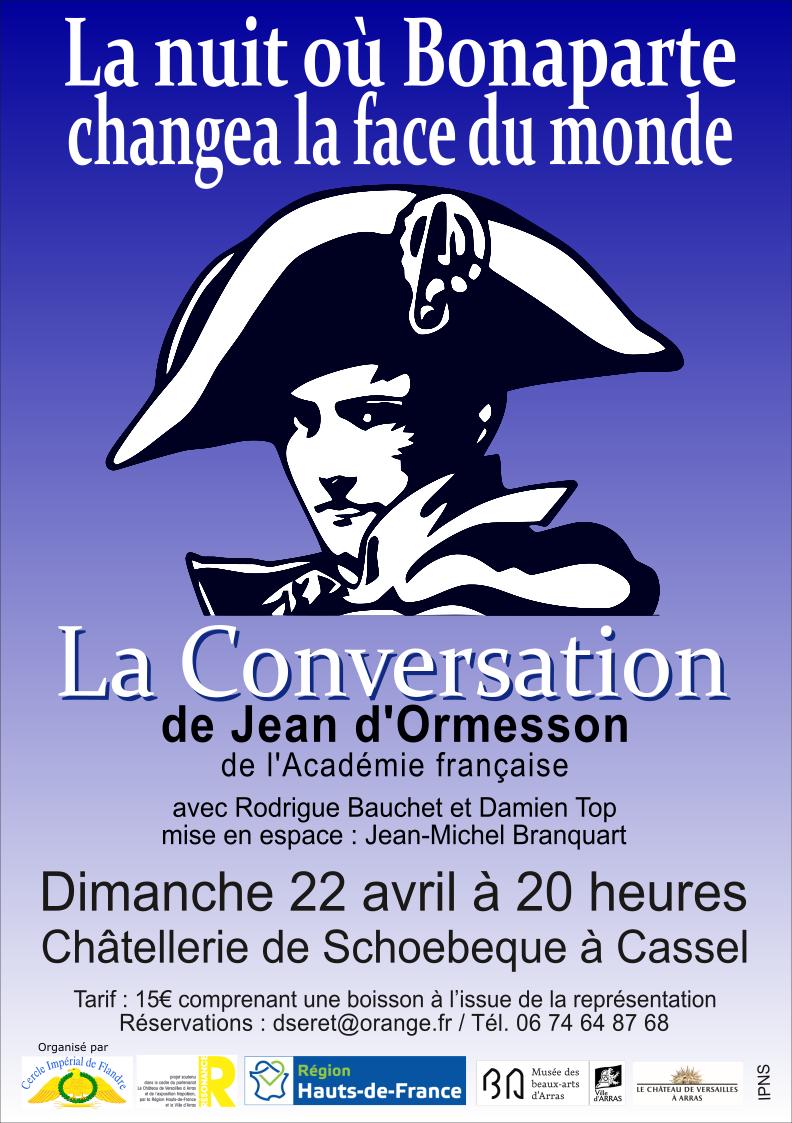 Affiche La Conversation