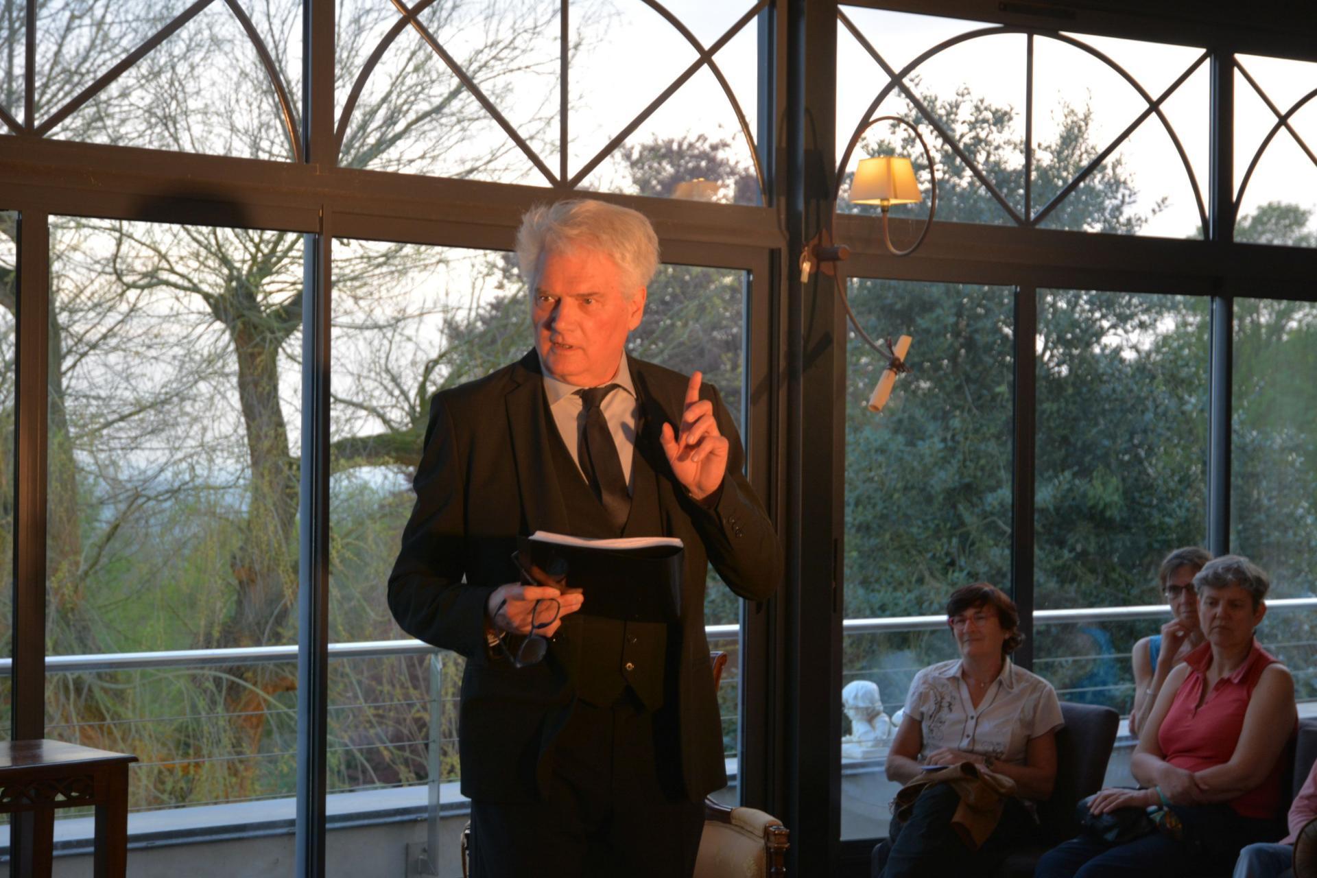Jean-Michel Branquart (qui a réalisé la mise en espace de la représentation)