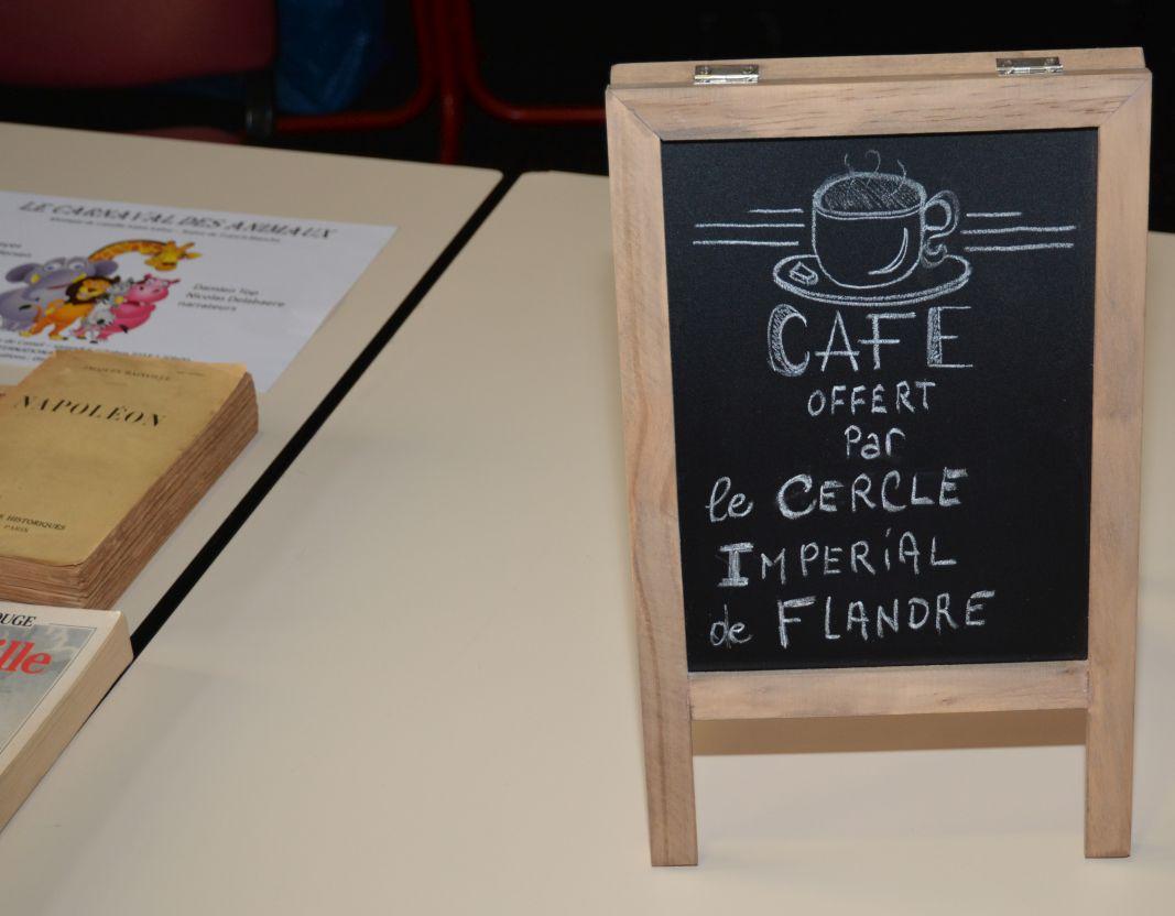 Accueil autour d'un café
