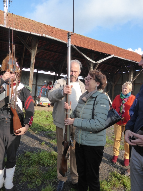 Hondschoote : visite du bivouac