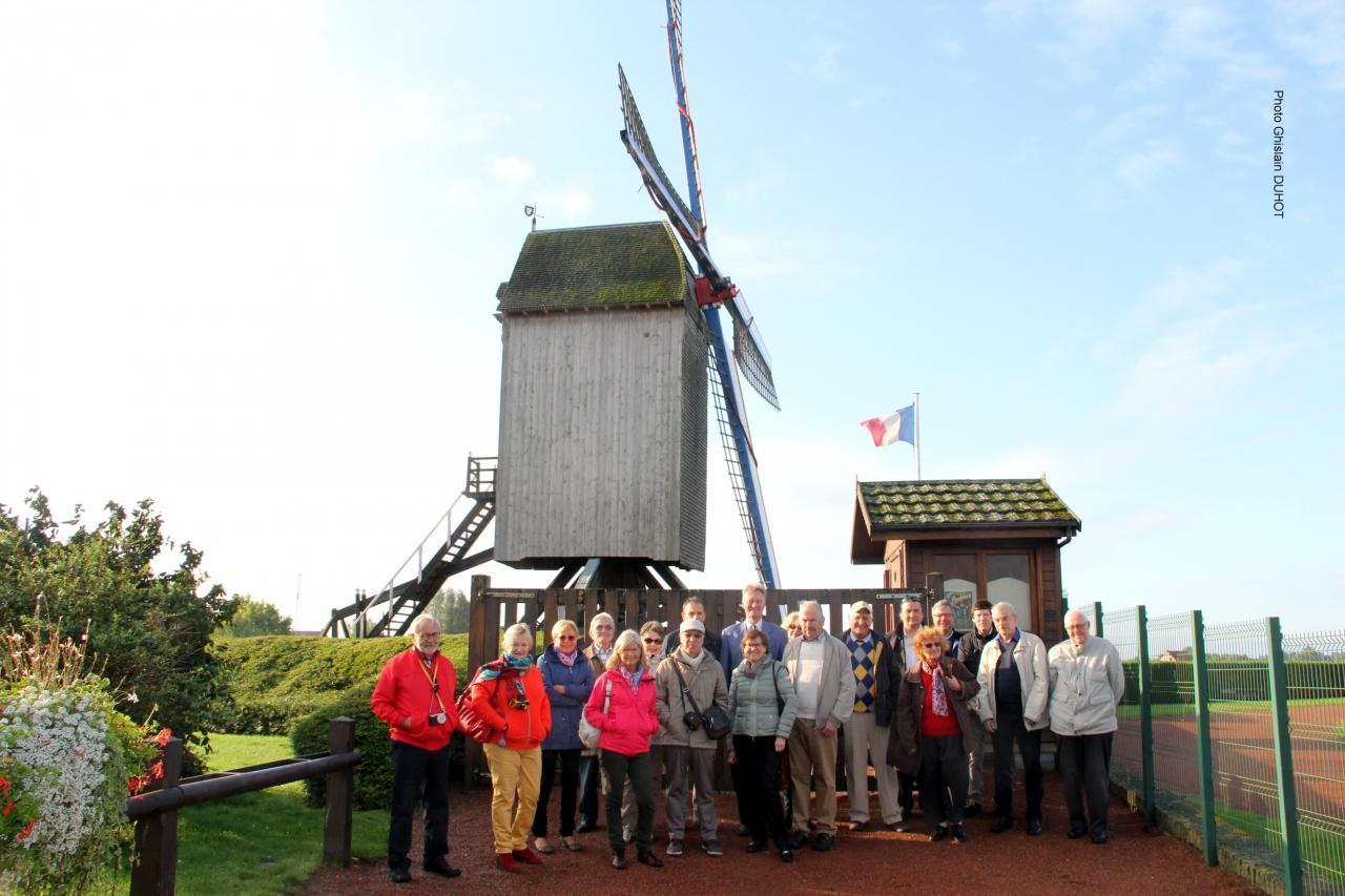 Hondschoote : le moulin de la Victoire