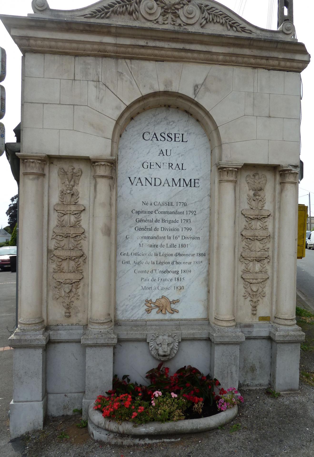 Monument Vandamme à Cassel