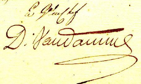 Signature vandamme